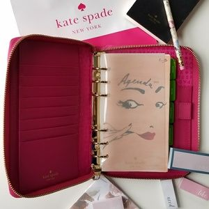 Kate Spade Zip Around Personal Agenda